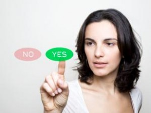 Aprende a decir sí