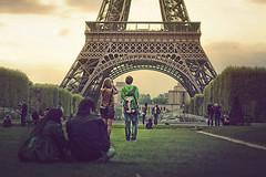 Atardecer en la Torre Eiffel (Explore!)
