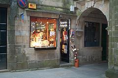 Tienda de souvenirs Santiago de Compostela